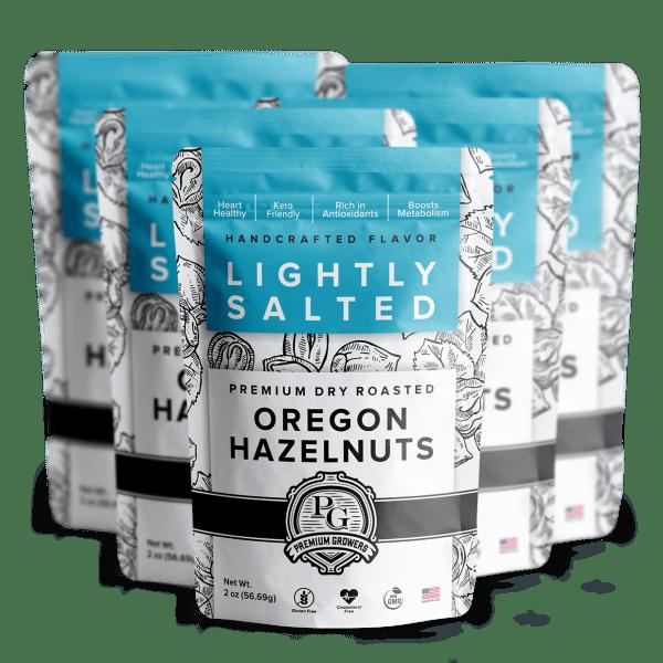 Premium Growers - Oregon Roasted Hazelnuts - Lightly Salted