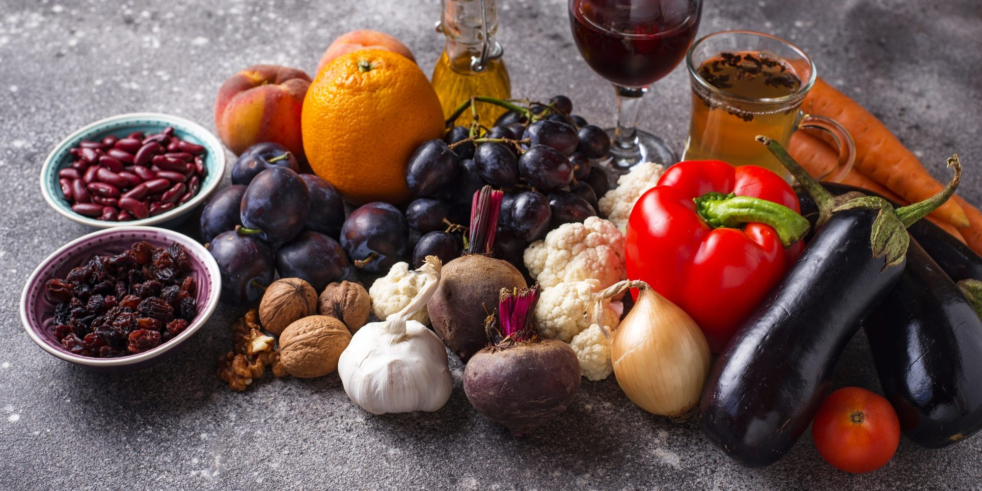 Antioxidants in products. Clean eating