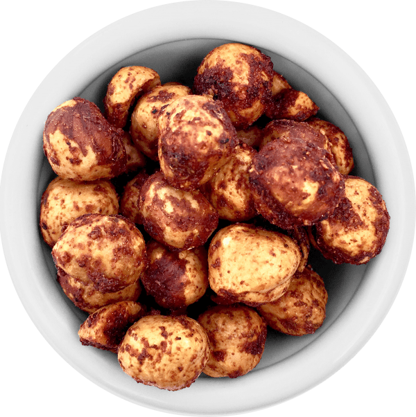 Premium Roasted Oregon Hazelnuts - Spicy BBQ