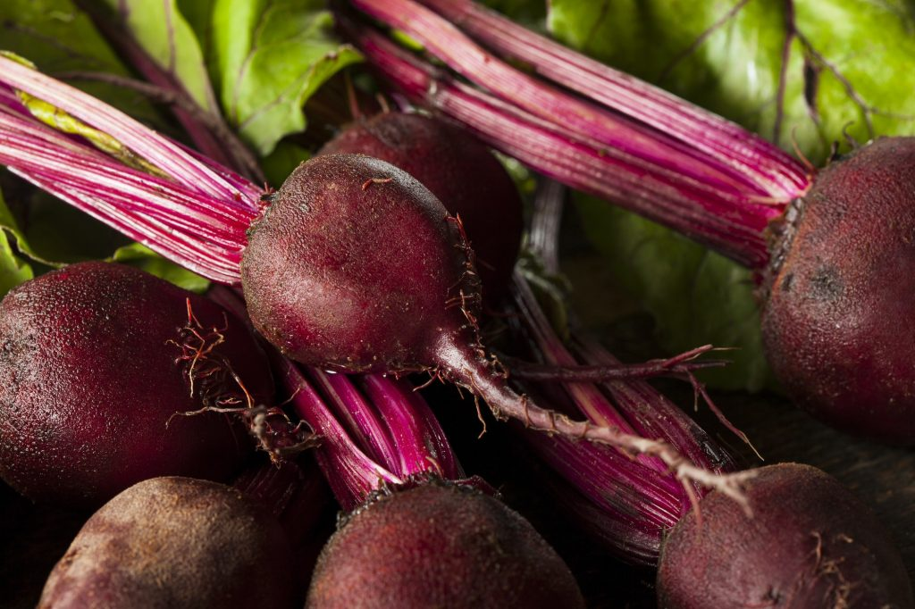 beets for a summery hazelnut salad