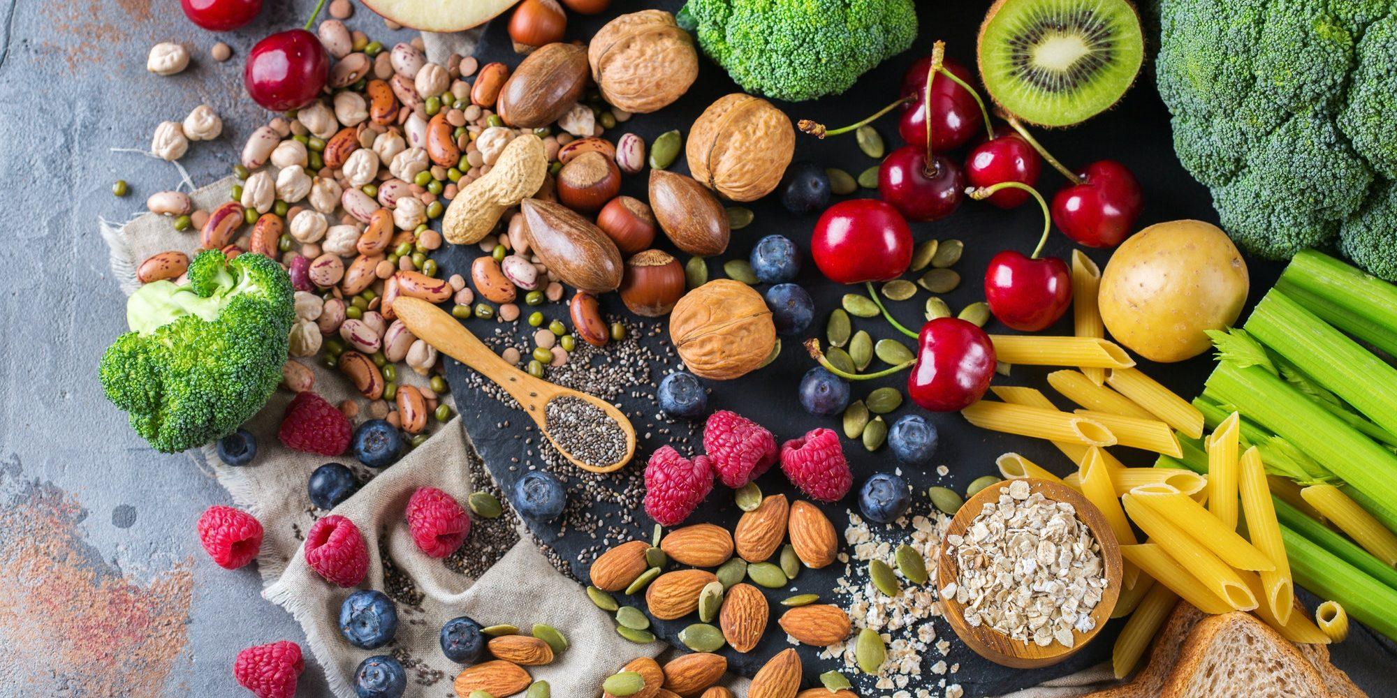 rich fiber foods for vegans